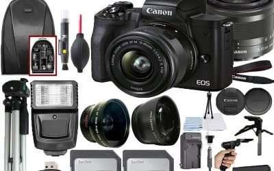 Canon EOS M50 Mark II Mirrorless Camera with Wi-Fi Bluetooth